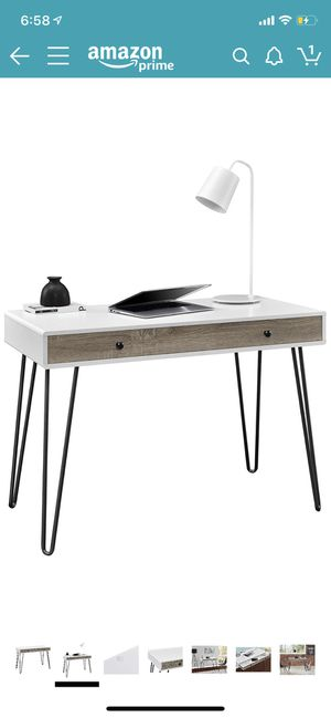 Modern desk. PICK UP ONLY for Sale in The Bronx, NY