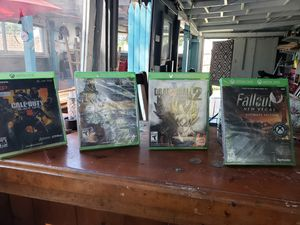 Xbox one games and xbox 360 game for Sale in East Bridgewater, MA