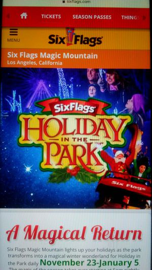 Magic mountain tickets for Sale in Palmdale, CA