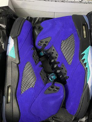 """Air Jordan Retro 5 """"Alternate Grape"""" for Sale in Columbus, OH"""