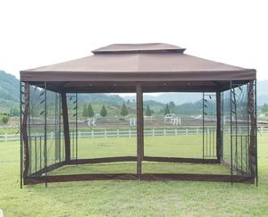 Outdoor Steel Gazebo Vented with Mosquito Netting Tent Backyard Patio Shade Garden New for Sale in Wilkes-Barre Township, PA