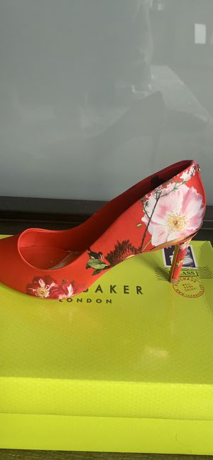 Ted Baker Red Berry Wishirip Heels - US Size 7 for Sale in Washington, DC