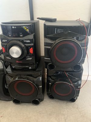LG XBoom Speakers w/ Bass for Sale in Mesa, AZ