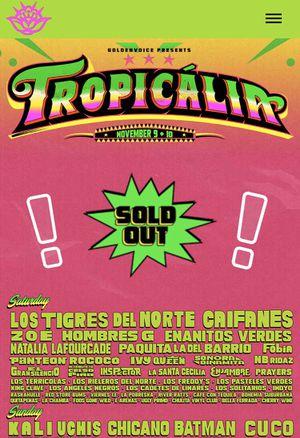 Tropicalia Tickets for Sale in Anaheim, CA