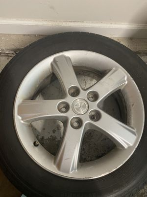 """16"""" Michelin Defender tire on steel Mazda rim 205/55R16 for Sale in Maryland Heights, MO"""
