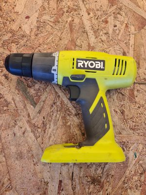 Ryobi P209 18 V Drill-Driver Bare Tool for Sale in Snohomish, WA
