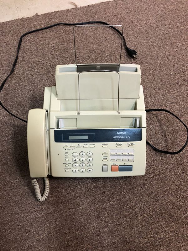 Plain paper Fax machine. Brother Intellifax 770
