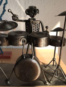 Drummer iron cast ( Sits On desk) for Sale in Lakeland,  FL
