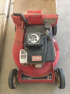 "Toro 5.0 GTS 21"" Self Propelled lawn mover for Sale in Phoenix, AZ"