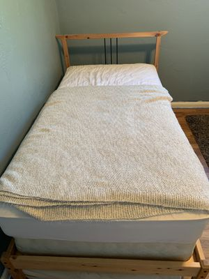 Wooden bed for Sale in Canby, OR