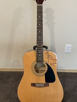 Fender FA-100 Acoustic Guitar - Autographed By Brandi Carlile for Sale in Monroe,  WA