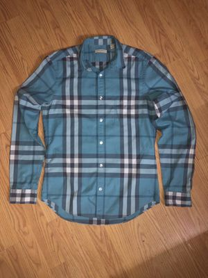 Authentic Burberry shirt size S for Sale in San Lorenzo, CA