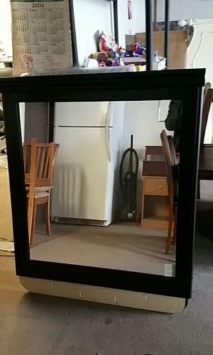 LARGE Black Dresser Mirror for Sale in Denver, CO