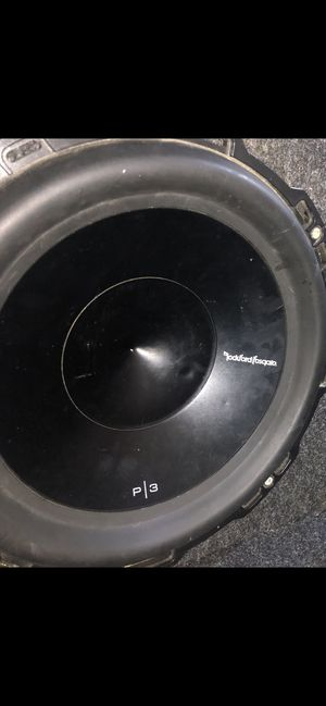 12's Rockford Fosgate Punch P3 $100 for Sale in Irving, TX