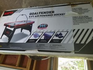 Goldtender 5ft air hockey table espn for Sale in Vineland, NJ