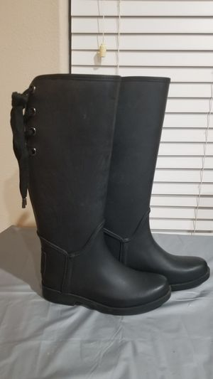 COACH Rain Boots 6.5B for Sale in Woodburn, OR