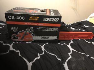 "Echo cs 400 18"" bar chainsaw for Sale in Seattle, WA"
