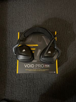 Corsair Void Wireless Gaming headphones for Sale in Portland, OR