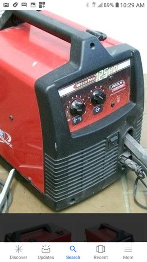 LINCOLN 125HD FLUX CORE WIRE WELDER 120VOLTS 125AMPS💪👌💪👌💪👌 for Sale in Torrance, CA