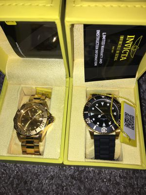 Invicta watches for Sale in Grand Prairie, TX