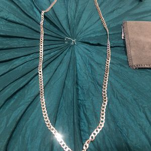 """🖐Sterling Silver(PLATA)chain 28"""" long bought at jcpenny measurements on picture price is not negotiable for Sale in Los Angeles, CA"""