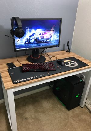 Complete gaming pc and computer setup for Sale in Chula Vista, CA