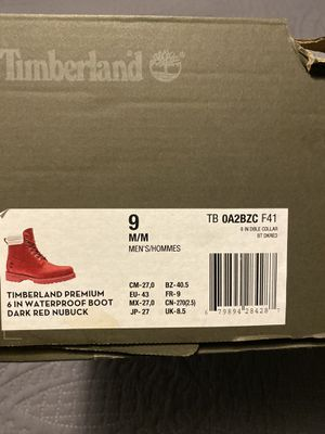 Timberlands medida 9 $ 130 for Sale in Chicago, IL