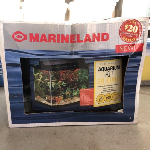 Marineland Bio Wheel Aquarium Kit (28 Gallon)