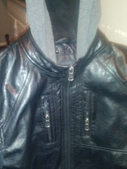 Urban Republic Leather Jacket Large for Sale in Oklahoma City,  OK