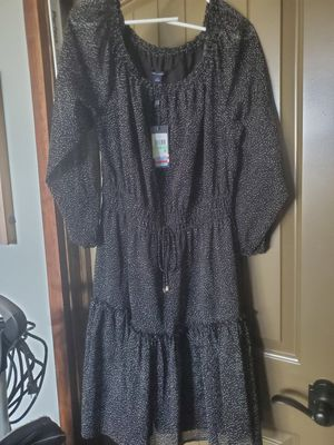 Tommy Hilfiger Lightweight Black and White Dress NWT Never Worn for Sale in Canonsburg, PA