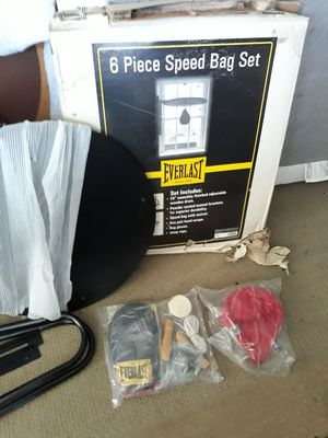 6 piece speed bag set for Sale in TWN N CNTRY, FL