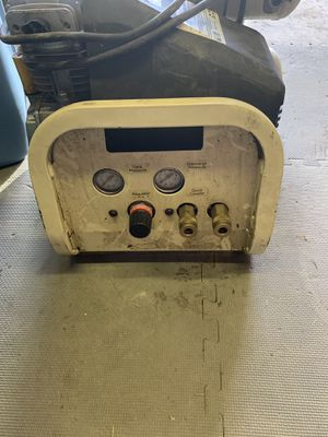 Ingersoll rand double tank compressor! Used but works great !!! for Sale in Linthicum Heights, MD