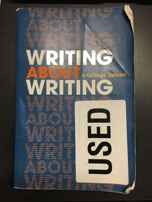 Writing About Writing - A College Reader for Sale in Tempe, AZ
