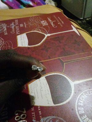 Diamond ear rings for Sale in Columbus, OH