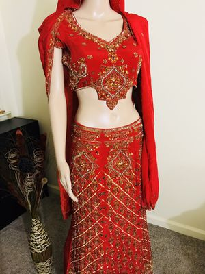 Designer bridal lehenga (heave work) for Sale in San Jose, CA