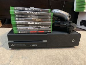 Xbox One/8 Video games/2 controllers/2 headphones for Sale in Linden, NJ