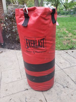 Everlast punching bag for Sale in Schaumburg, IL