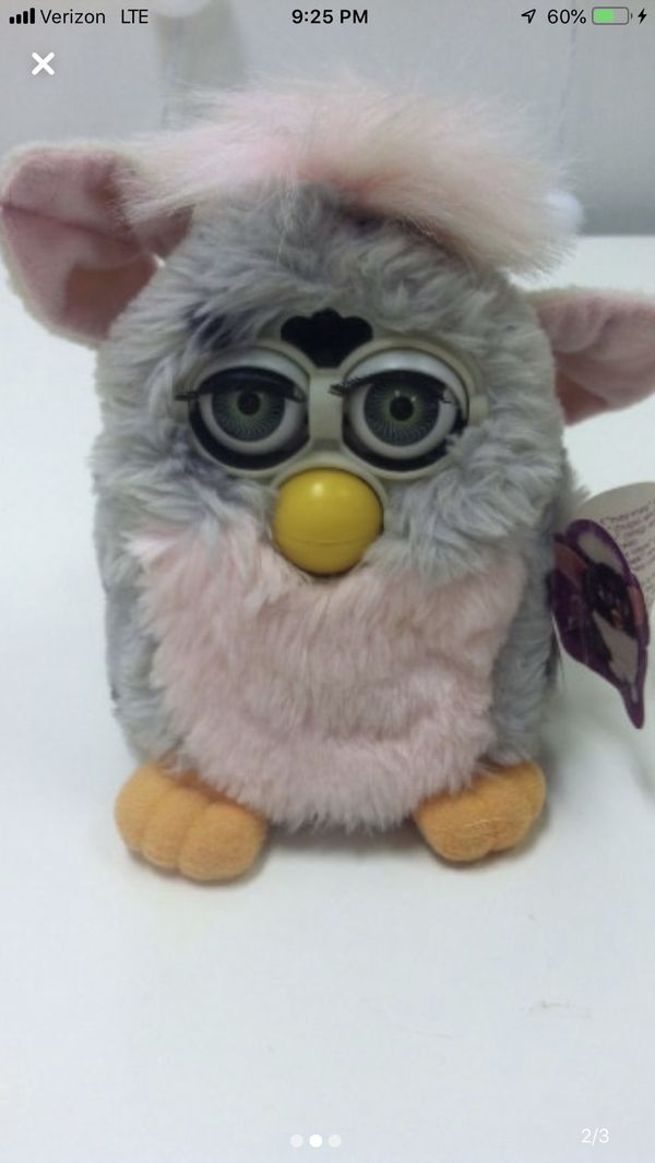 Collectible Toy Furby Vintage Rare Item