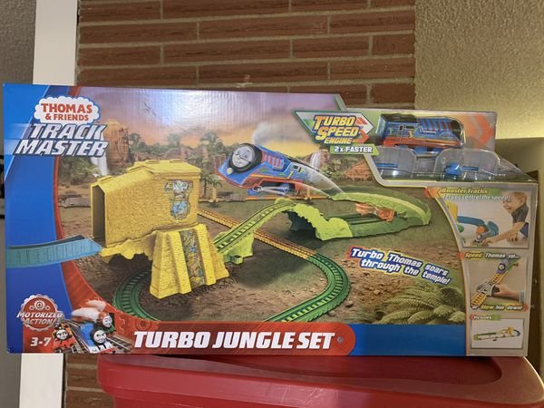 Fisher price Thomas & friends track master turbo jungle set