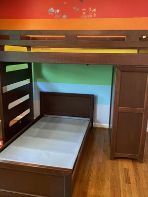 Twin bunk bed for Sale in Chesapeake, VA