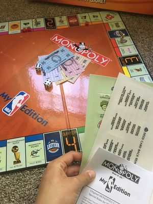 Nba monopoly for Sale in Lake Ridge, VA