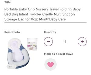 Travel Baby Bed for Sale in Henderson, NV