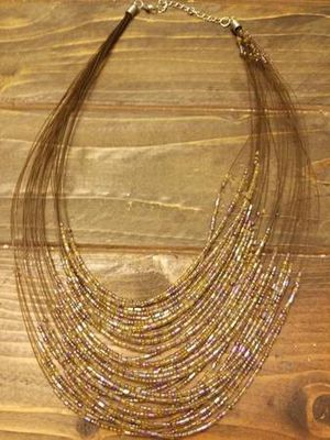 Brown Bead Necklace for Sale in Westminster, CO