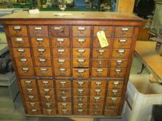 60 draw library card catalog for Sale in Chelmsford, MA