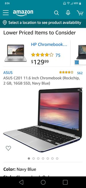 Asus Chromebook laptop for Sale in Downey, CA