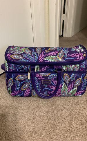 Vera Bradley Rolling Weekender / Carryon Bag for Sale in Centreville, VA