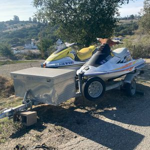 Yamaha And Polaris Comes With Trailer And Hitch for Sale in Arroyo Grande, CA