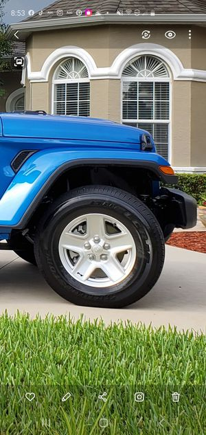 Jeep Gladiator wheels for Sale in DeBary, FL