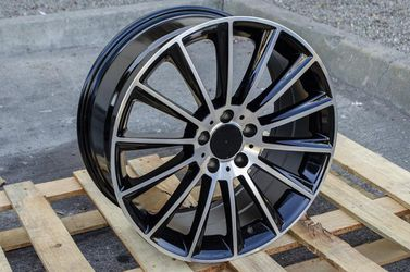 """Mercedes 20"""" New Blk Machine Amg Style Rims Tires Set for Sale in Hayward,  CA"""