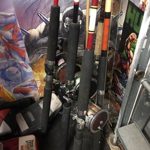 Penn Trolling Rods for Sale in West Palm Beach, FL